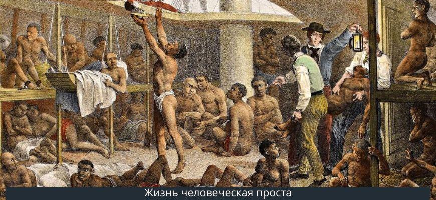рабы человеческая жиз