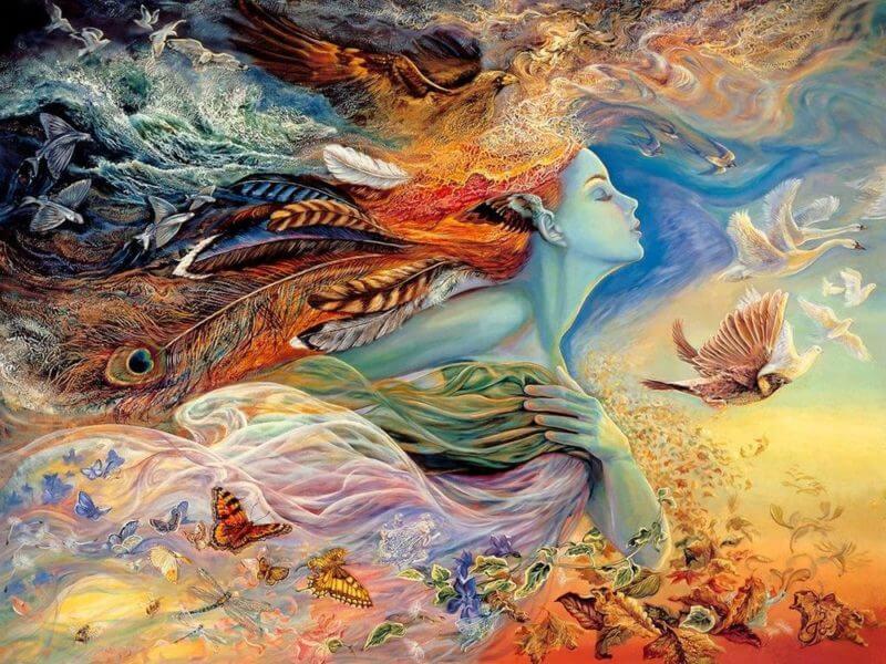 Волшебный мир картин Жозефины Уолл (Josephiny Wall)